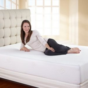 Classic Brands 10-Inch Ventilated Memory Foam Mattress